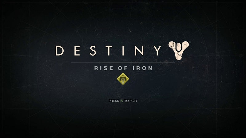 I miss the old Taken King title screen and music. But this one is pretty awesome as well.