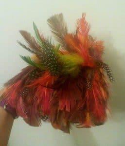 Feather Shoulder Piece